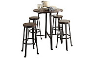 Ashley Challiman 5-Piece Bar Set