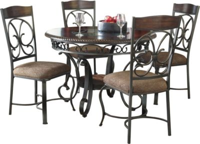 Ashley Glambrey 5 Piece Dining Set Homemakers Furniture