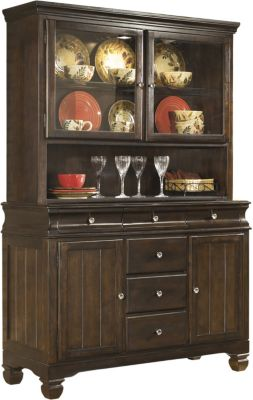 Ashley Hayley China Hutch & Buffet Set