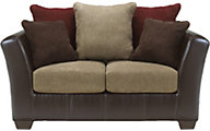 Ashley Sanya Microfiber Loveseat