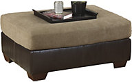 Ashley Sanya Microfiber Oversized Ottoman