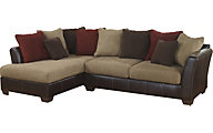 Ashley Sanya Microfiber 2-Piece Sectional