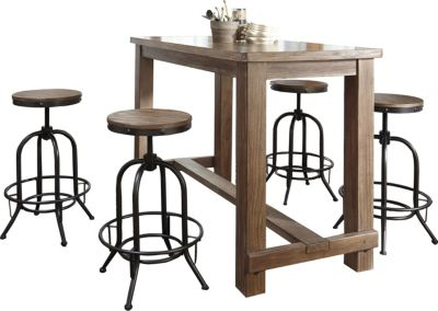 Ashley Pinnadel 5-Piece Bar Set