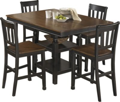 Ashley Owingsville 5-Piece Counter Set