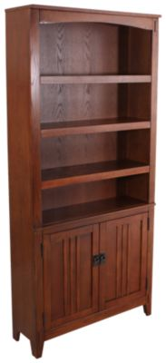Ashley Cross Island Bookcase