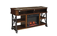 Ashley Vinasville TV Stand with Fireplace