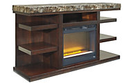 Ashley Kraleene TV Stand with Fireplace