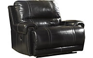 Ashley Paron Leather Power Wide Recliner