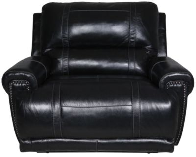 Ashley Paron Leather Wide Recliner