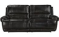 Ashley Paron Leather Power Reclining Sofa