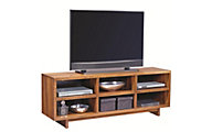 Aspen Walnut Heights 65-Inch Open Console