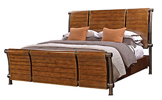Aspen Rockland King Sleigh Bed