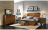 Aspen Rockland 4-Piece Queen Panel Bedroom Set