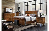 Aspen Rockland 4-Piece Queen Sleigh Bedroom Set