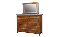 Aspen Rockland Dresser with Mirror