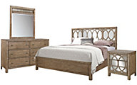 Aspen Tildon 4-Piece Queen Bedroom Set
