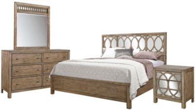 Aspen Tildon 4-Piece King Bedroom Set