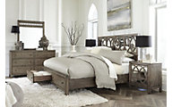 Aspen Tildon 4-Piece Queen Storage Bedroom Set