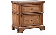 Aspen Alder Creek 2-Drawer Nightstand