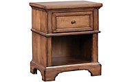 Aspen Alder Creek 1-Drawer Nightstand