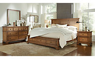 Aspen Alder Creek 4-Piece Queen Storage Bedroom Set