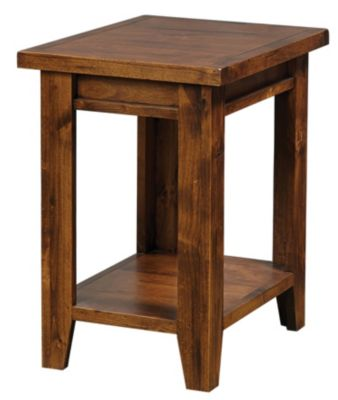 Aspen Grove Fruitwood Chairside Table