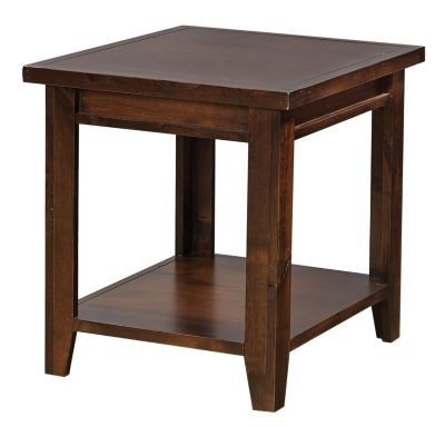 Aspen Grove Walnut End Table