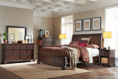 Aspen Bancroft 4-Piece King Bedroom Set