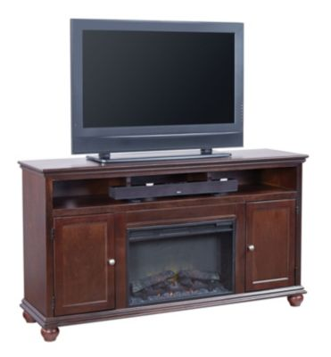Aspen Casual Traditional 63-Inch Fireplace Console