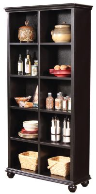 Aspen Casual Traditional 77-Inch Bookcase