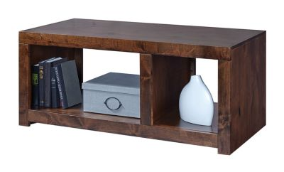 Aspen Contemporary Alder Walnut Coffee Table