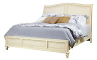 Aspen Cottonwood Queen Sleigh Bed