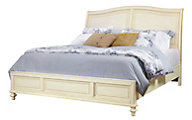 Aspen Cottonwood King Sleigh Bed