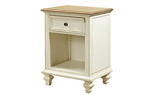 Aspen Cottonwood 1-Drawer Nightstand