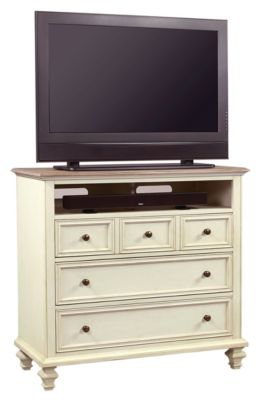 Aspen Cottonwood Media Chest