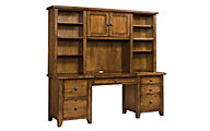 Aspen Cross Country Desk & Hutch
