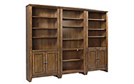 Aspen Cross Country Bookcase Wall