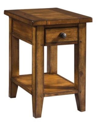 Aspen Cross Country Chairside Table