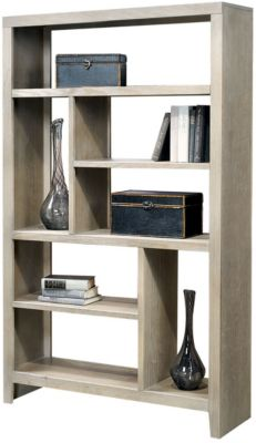 Aspen Essentials Wirebrush Open Bookcase