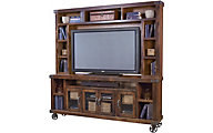 Aspen Industrial 84-Inch TV Console & Hutch