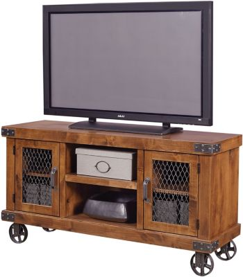 Aspen Industrial 55-Inch TV Console