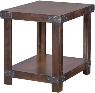 Aspen Industrial End Table