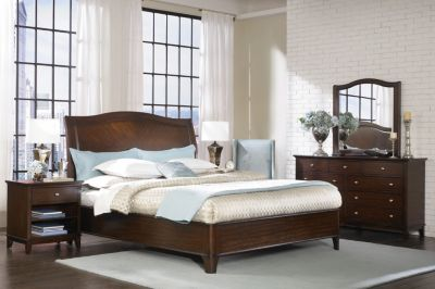 Aspen Lincoln Park 4-Piece King Bedroom Set