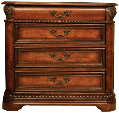 Aspen Napa 4-Drawer Nightstand