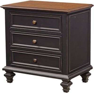 Aspen Ravenwood 3-Drawer Nightstand