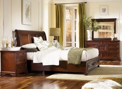 Aspen Richmond 4-Piece King Storage Bedroom Set