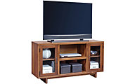 Aspen Walnut Heights Amber 55-Inch TV Console