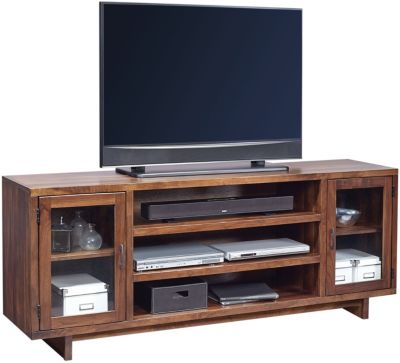 Aspen Walnut Heights Stout 74-Inch TV Console