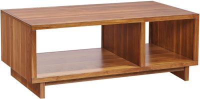 Aspen Walnut Heights Amber Coffee Table