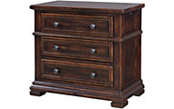 Aspen Westbrooke 3-Drawer Nightstand